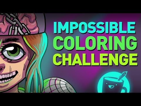 Impossible Coloring Challenge