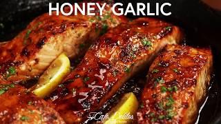 Browned Butter Honey Gaŗlic Salmon