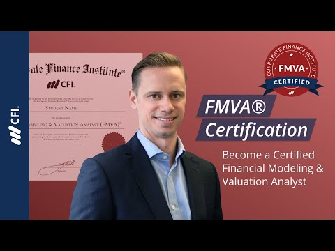 FMVA® Certification - Become a Certified Financial Modeling & Valuation Analyst (FMVA)®