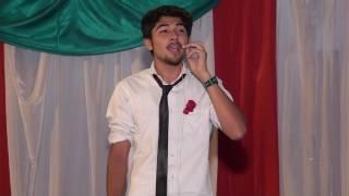 Zain Bhatti Sings a Song at Farewell party 2017