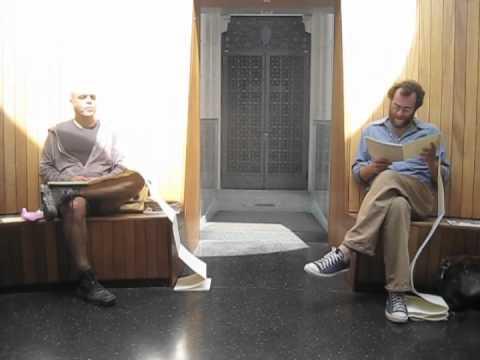 Joshua Beckman and Alejandro de Acosta at the Henry Art Gallery