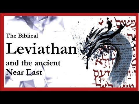 Leviathan: ancient Near Eastern chaos god, not a dinosaur