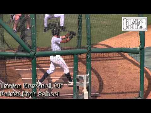 Tristan Mercadel Prospect Video, Patriot High School