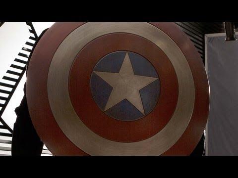 Captain America 'Winter Soldier' Costume Revealed