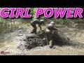 GIRLS WORKING HARD .. LOG CHATEAU ATV WEEKEND PT 4