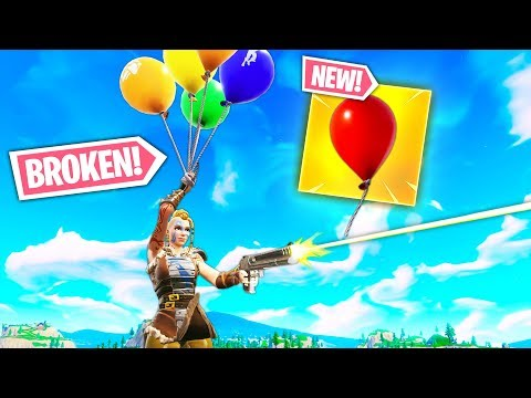 NEW *BROKEN* BALLOON TRICKS!! | Fortnite Funny and Best Moments Ep.283 (Fortnite Battle Royale) thumbnail