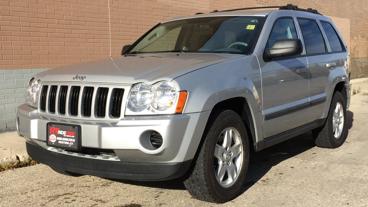 2007 jeep grand cherokee laredo 4wd - power windows & locks cloth