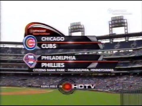 12 - Cubs at Phillies - Sunday, April 13, 2008 - 1235pm CDT - CSN Chicago