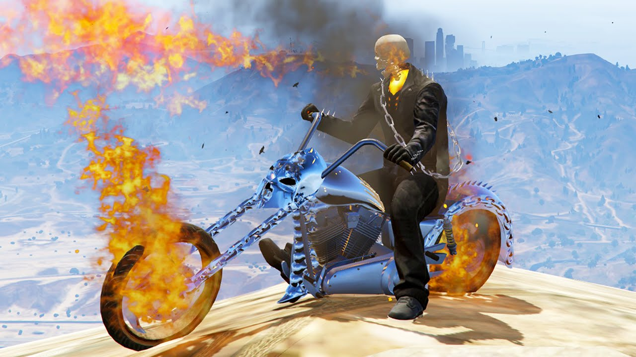 gta v how to download ghost rider mod