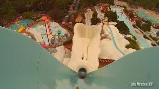 tallest extreme freefall body water slide summit plummet pov disney s water park