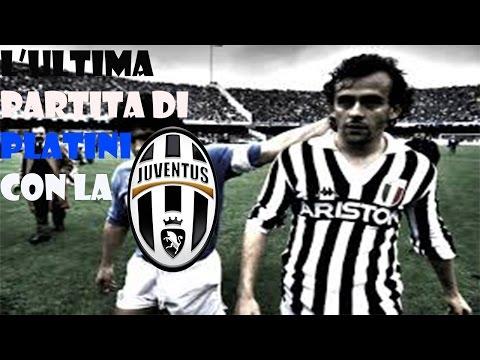 Juventus 3-2 Brescia L'ultima partita di Platini con la Juventus