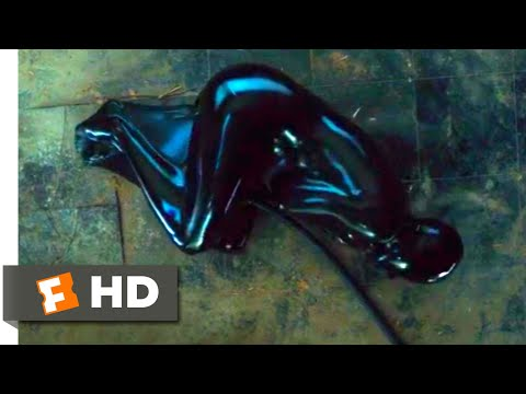 The Girl In The Spider's Web (2018) - Black Latex Torture Scene (8/10) | Movieclips