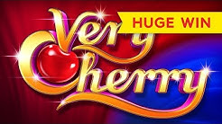 BETTER THAN JACKPOT! Very Cherry Slot - HIGH LIMIT RETRIGGER, AWESOME!