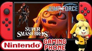 Massive News: Smash Ultimate Isabelle & Simon   Nintendo Gaming Phone - Jump Force Bleach & More