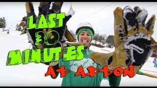 Electric Snail: last 30 minutes at afton alps SO MUCH FUN 2016