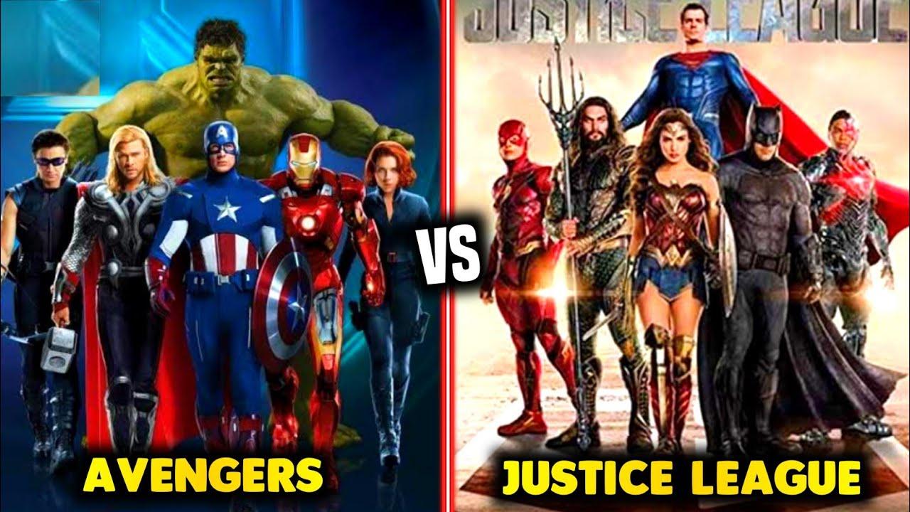 Avengers Vs Justice League in Hindi || Marvel Vs DC in Hindi || MCU vs DCEU || Who will win || Ep 01