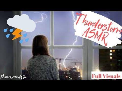 ASMR: Thunderstorm Sounds For Sleeping (Full Visuals)
