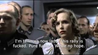 Hitler finds out that Liam Howlett has entered his rally