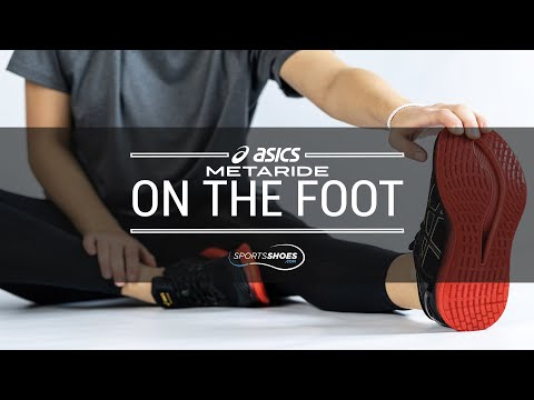 ASICS MetaRide  | On The Foot |  SportsShoes.com