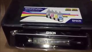 Epson L382: Unboxing And Setup
