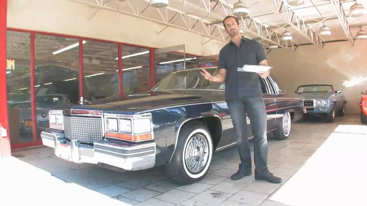 1981 Cadillac Coupe DeVille for sale with test drive, driving sounds