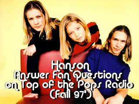 Hanson Answer Fan Questions on Top of the Pops Radio