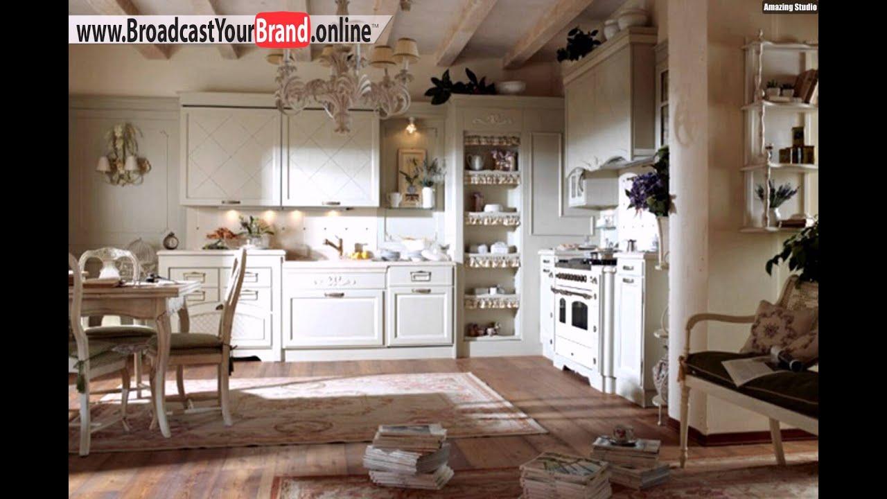 Weiße Holz Küche Klassisch Eckschrank Herd Essplatz - YouTube