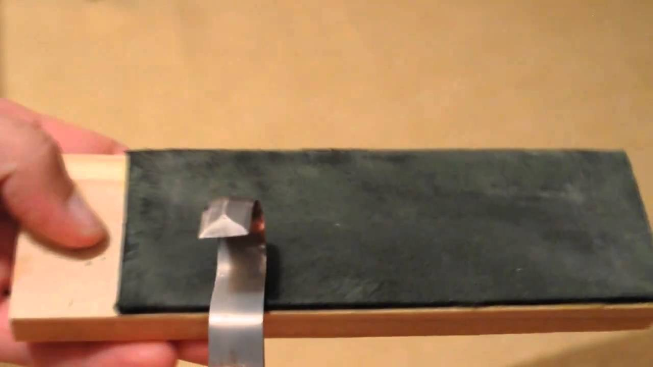 Mora curved knife modification and sharpening youtube