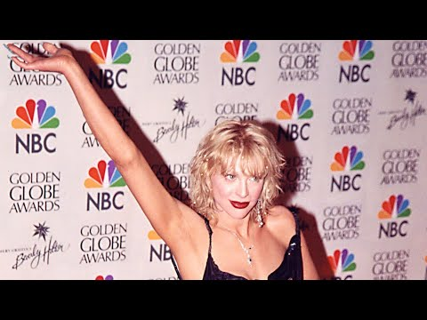 Courtney Love at the Golden Globes 2000