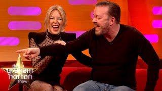Kylie Minogue Serenades Ricky Gervais In Elizabeth Banks' Sexy Boardgame | The Graham Norton Show