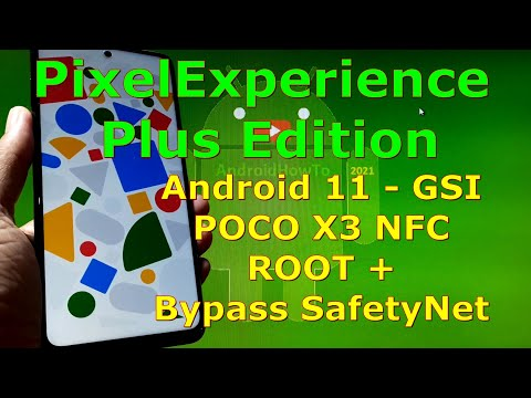 PixelExperience Plus Edition Android 11 for POCO X3 NFC - Surya