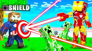 PLAYING as AVENGERS SUPERHEROES in MINECRAFT! (overpowered)