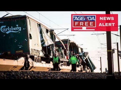 6 Dead in Denmark Train Accident - LIVE BREAKING NEWS COVERAGE