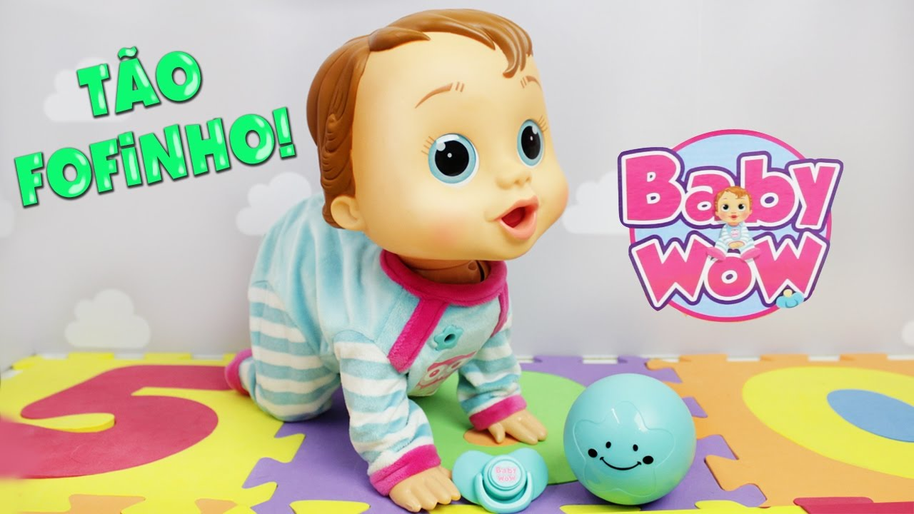 Boneco Que Engatinha Baby Wow Multikids Lilly Doll Youtube