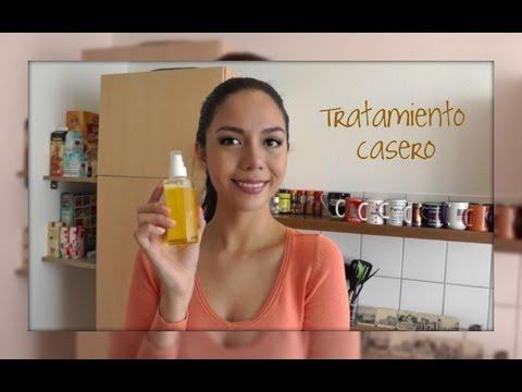 tratamiento con aceite caliente para cabello seco o maltratado