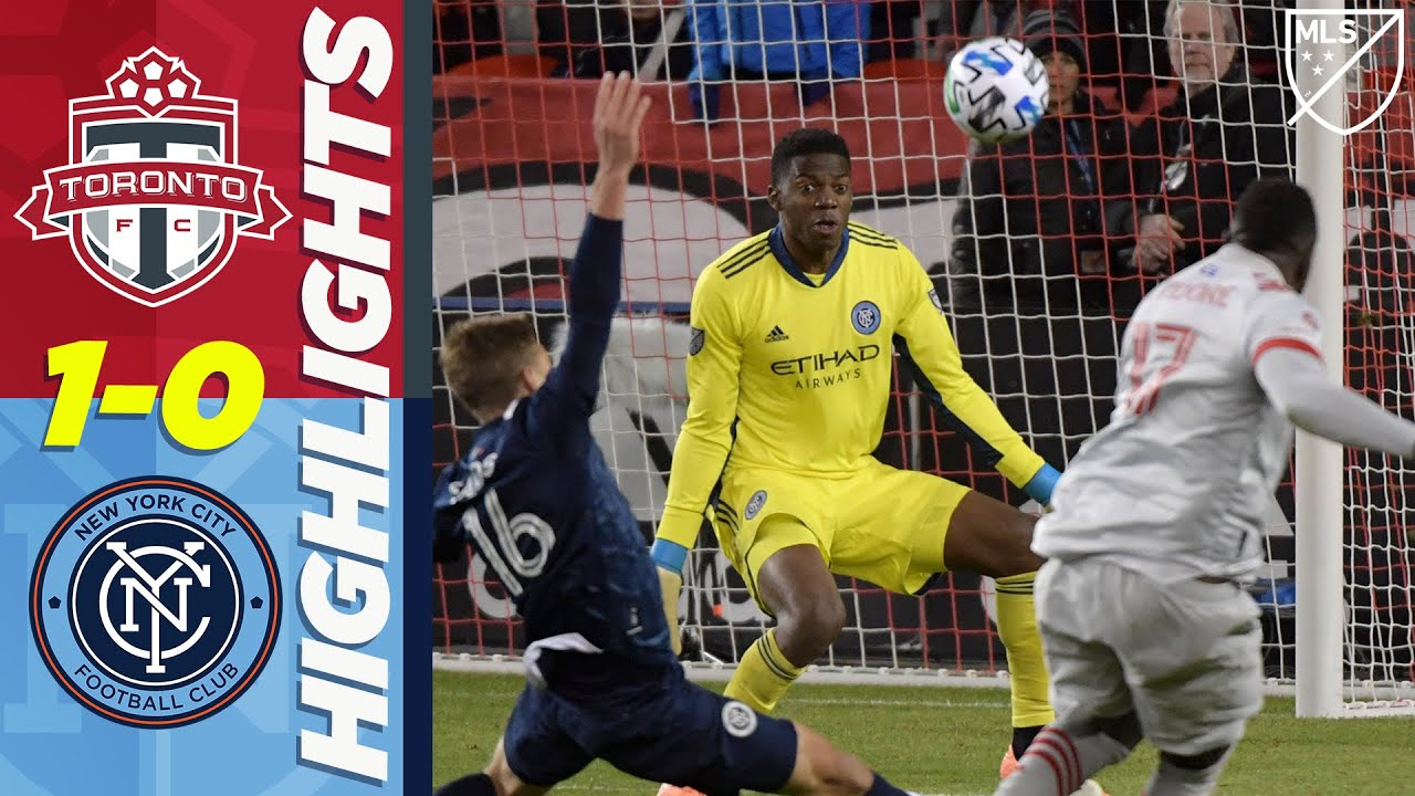Toronto FC 1-0 New York City FC | Toronto Grabs Tough Late Win | MLS HIGHLIGHTS