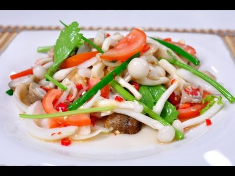 Access youtube thai food spicy mixed mushroom yum hed ruam forumfinder Choice Image