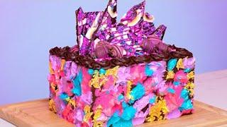 German Chocolate Cake - Caramel, Ganache, Turtles Chocolate   How To Cake It with Yolanda Gampp