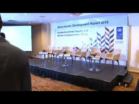 African Economic Conference 2016-Launch for the Human Development Report 2016