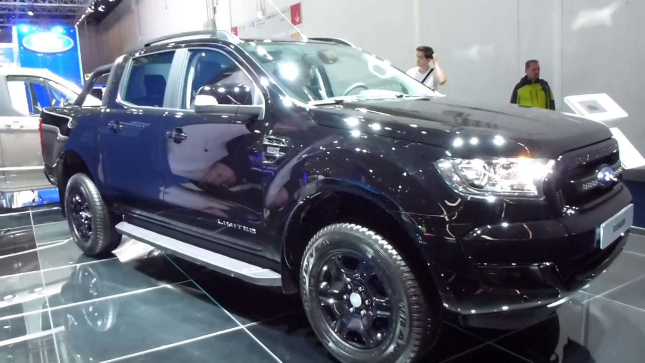ford ranger limited black edition  td  hp   playlist youtube