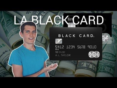 LA BLACK CARD, C'EST QUOI ?! 💰