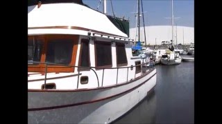 1976 32 chb trawler with bow thruster