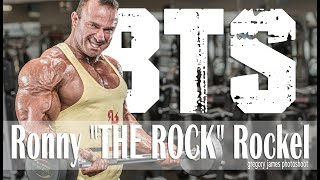 "Gregory James BTS Bodybuilding Photoshoot | IFBB Ronny ""The Rock"" Rockel"