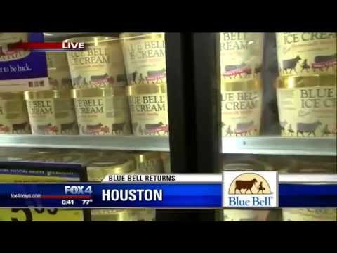Blue Bell Ice Cream Returns To Stores