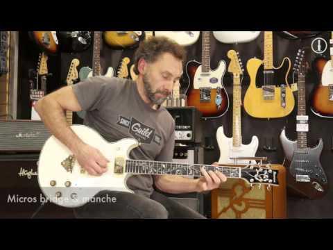 IBANEZ AR620 IVory Ltd - guitare électrique