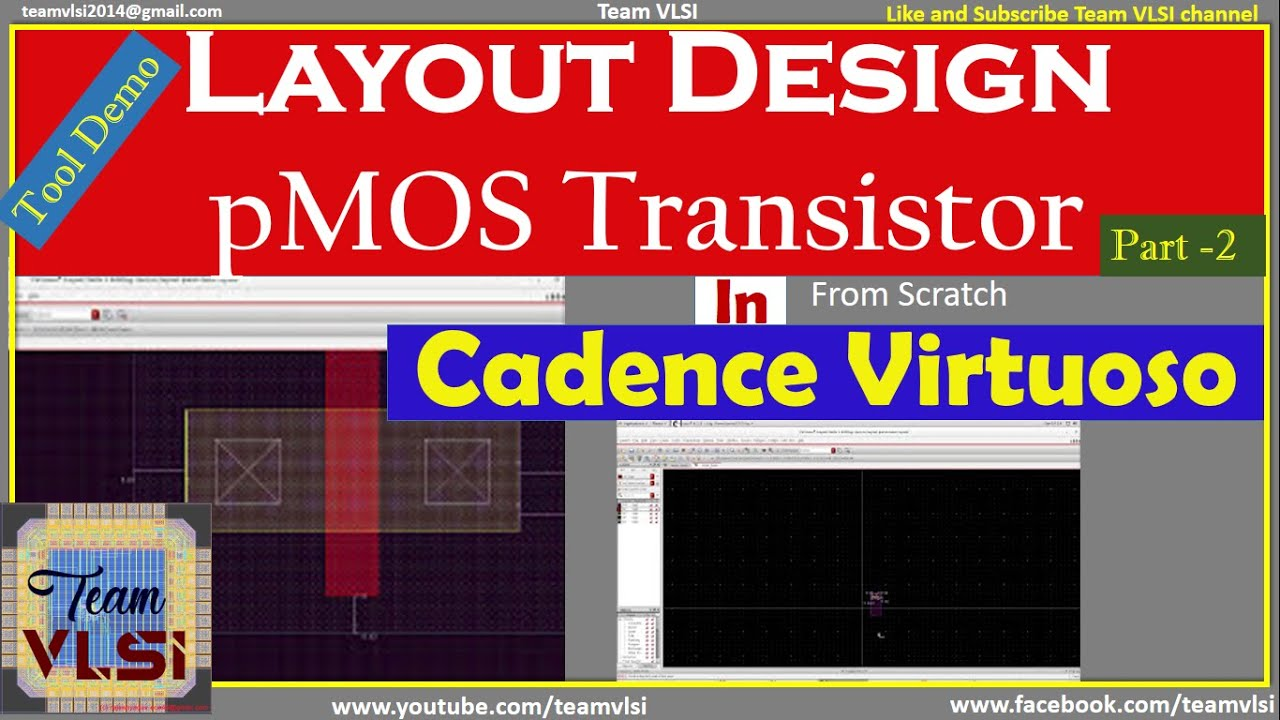 Layout Design of pMOS Transistor in Cadence Virtuoso | part-2