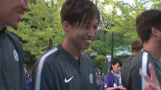 9月22日(土)FC東京戦義援金募金活動&試合後選手コメント thumbnail