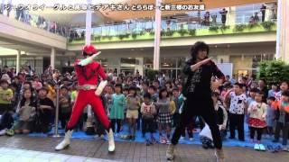 【踊ってみたら覚醒した!】ジュウオウイーグルと高取ヒデアキさんとららぽーと新三郷のお友達 thumbnail