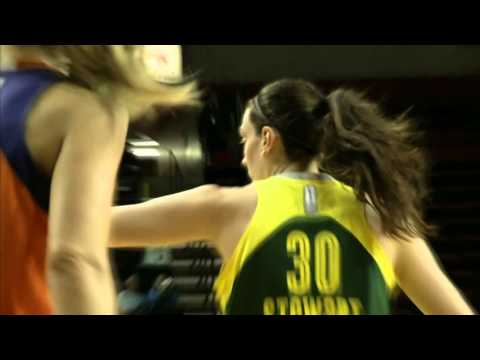 Breanna Stewart Makes Her WNBA Preseason Debut
