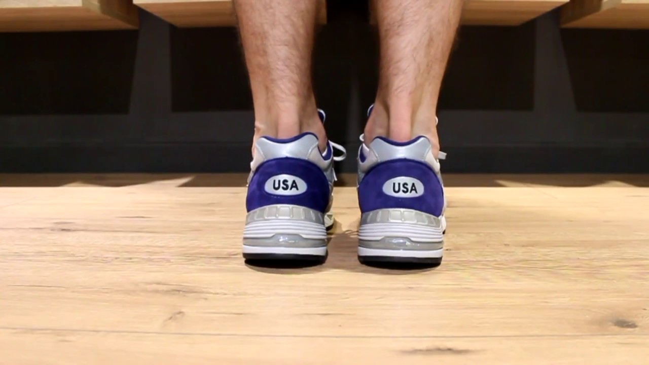 sports shoes d07d4 2c2da ONFEET   New Balance M991CBL (Grey\Blue)
